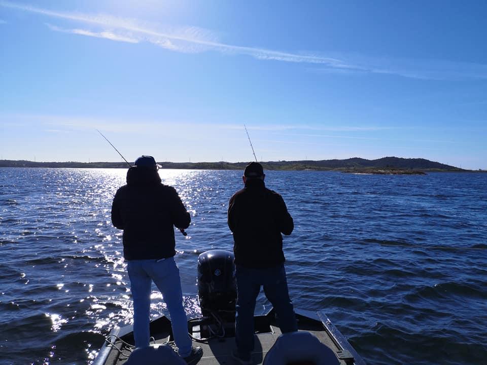 pêche des carnassiers lac alqueva portugal